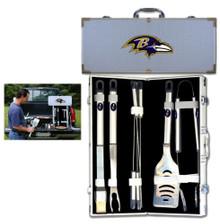 Baltimore Ravens 8 pc BBQ Set