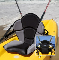 GTS Expedition Kayak Fishing Seat with Closeup of Pac
