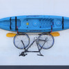 J-Hook Kayak Hanger with Bicycle