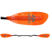 Premier Zephyr Low Angle Kayak Paddle - Orange ( Main Image)