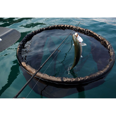 Floating Fishing Net with Trout