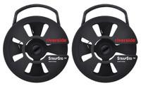 StrapSto Cam Strap Reel 2-Pack - Black 1