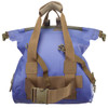 Goforth Dry Duffel Shoulder Bag - Blue (FrontView)