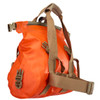 Goforth Dry Duffel Shoulder Bag - Orange (SideView)