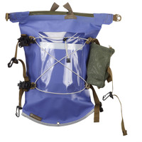 Aleutian Kayak Deck Bag with Water Bottle Holder - Blue