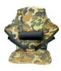 Deluxe Big Back Kayak Seat Camo Front