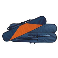 Deluxe Padded Paddle Bag with Texas Orange Trim