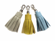 Small Leather Tassel - MORE COLORS