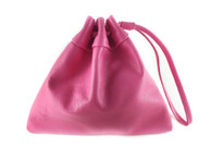 Three Points Drawstring Mini Leather Bag - MORE COLORS