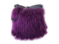 NEW! Fluffie Mongolian Fur Crossbody Bag - 1 LEFT!