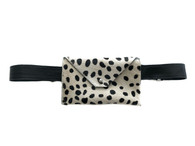 NEW! Pocket Calf Hair Mini Waistbag - Dalmatian