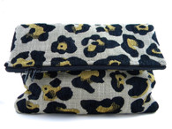 RESTOCKED! Cool Cat Statement Clutch - 2 LEFT!