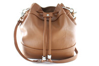 KeKe Leather Bucket Bag
