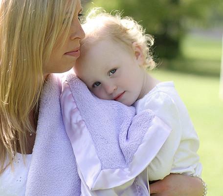 Plush Baby/Toddler Blanket