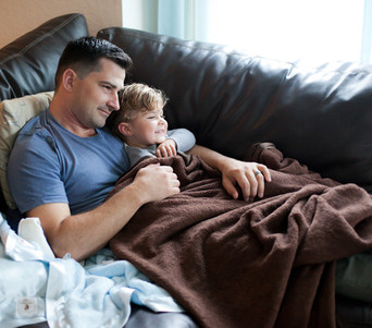 DadLife - A Man's Own Comfort Blanket -  Silkie & Plush