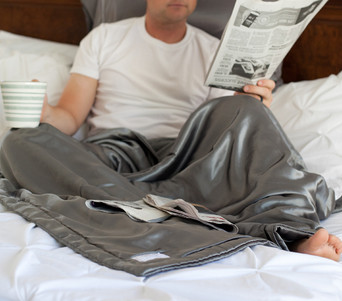 DadLife -  A Man's  Own Comfort Blanket  - All Satin