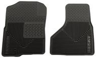 51221 | Black Husky Liner 2003-2014 Dodge Ram Front Floor Mats