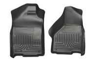 18031 | Black Husky Liner Front Weatherbeaters Floor Mats
