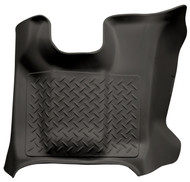 83671 | Black Husky Liner Center Floor Mats Weatherbeater