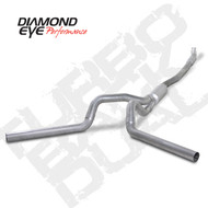 Diamond Eye 2001-2007 Duramax Turbo Back Quiet Tone Dual Exhaust Systems