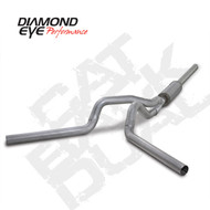 Diamond Eye 2004-2007 Cummins Cat Back Dual Exhaust