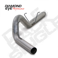 "Diamond Eye 2007-2012 Cummins 5"" DPF Back Exhaust"
