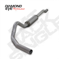 Diamond Eye 2003-2007 Powerstroke Cat Back Exhaust
