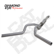 Diamond Eye 2003-2007 Powerstroke Cat Back Dual Exhaust