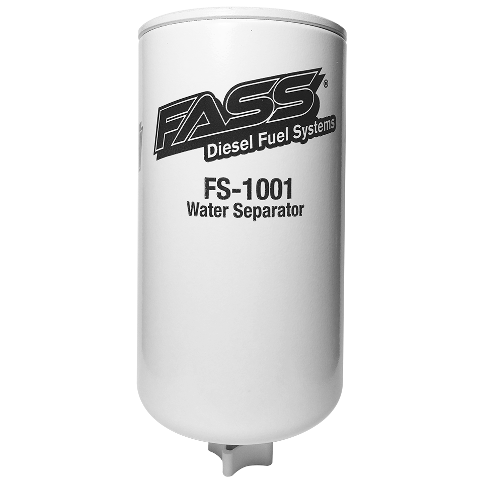 FASS Fuel Systems Replacement Fuel Pump Filter FS-1001