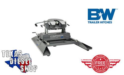 B&W Companion Fifth Wheel Hitch Sliding