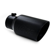 "T5072BLK | Universal 6"" Black Finished Exhaust Tip"