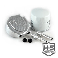 H&S Motorsports 2011-2014 Powerstroke Fuel Filter Conversion Kit | 121003