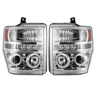 264196CL | Recon Clear Projector Headlights | Ford Super Duty