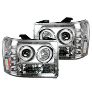 Recon Lighting 2007-2013 GM Sierra Projector Headlights