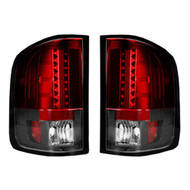 264189RD | GMC Sierra LED Tail Lights Red