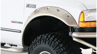Bushwacker 1999-2007 Super Duty Cut-Out Style Front Fender Flares | 20043-02