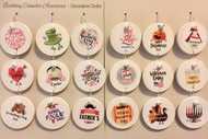 18 - Holiday Circles for Birthday Calendars