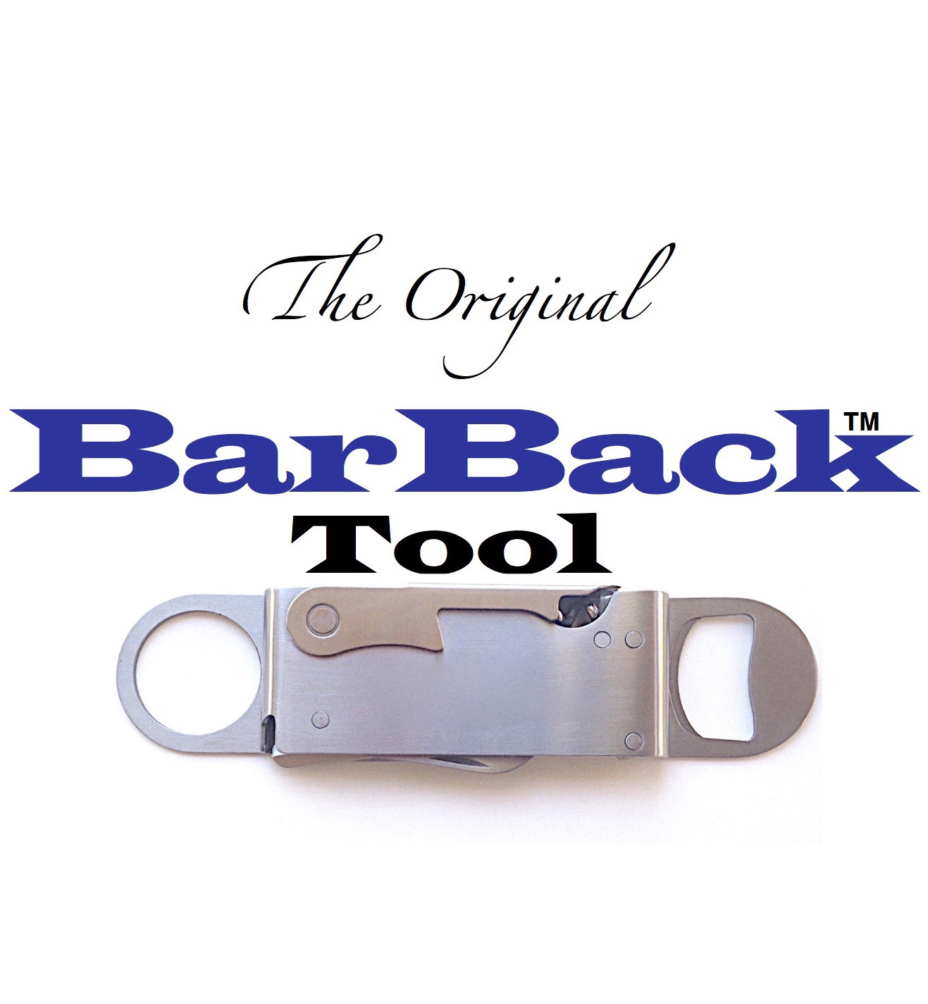 The Original BarBack | Bar Multi Tool