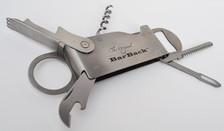 The Original BarBack Tool Edition One in open position showing the front side.