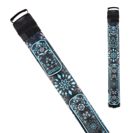 Athena ATHC12 2X2 Hard Embroidered Cue Case