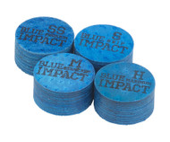 Navigator Blue Impact Pool Cue Tip -Single QTNBLI