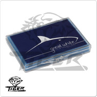 TIGER GREAT WHITE  CUE TIP - Box of 12  QTGW12
