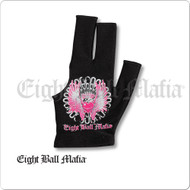 Eight Ball Mafia Billiard  Glove - Bridge Hand Left - BGLEBM04