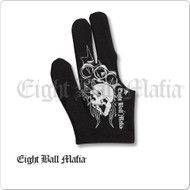 Eight Ball Mafia Billiard  Glove - Bridge Hand Right - BGREBM01