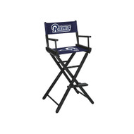 LA Rams Bar Height Directors Chair