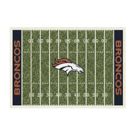 Denver Cowboys Home Field Rug
