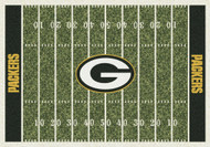 Green Bay Packers Home Field Rug