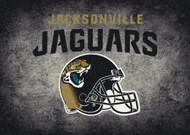 Jacksonville Jaguars Distressed Rug