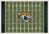 Jacksonville Jaguars Home Field Rug