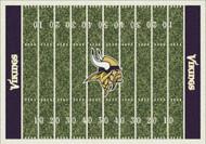 Minnesota Vikings Home Field Rug
